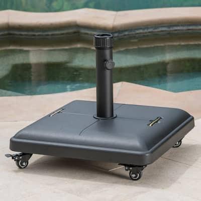 Hayward 80 lbs. Concrete Patio Umbrella Base in Black