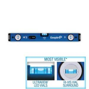 24 in. UltraView LED Magnetic Box Level