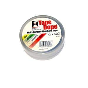 Harvey 1 2 In X 260 In Thread Sealing Ptfe Plumber S Tape 0178502 The Home Depot