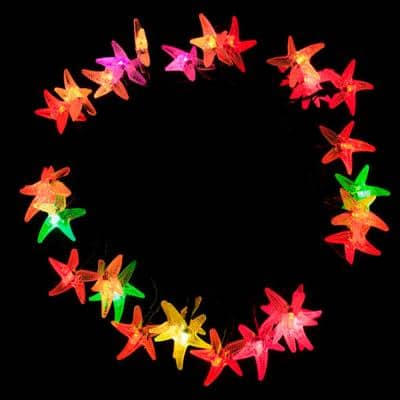 30 LED Multi-Color Starfish String Lights