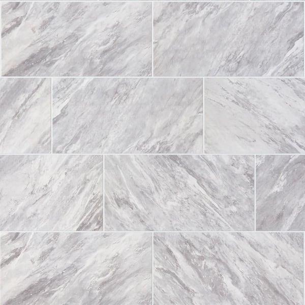 Daltile Newgate Gray Marble Matte 12 In