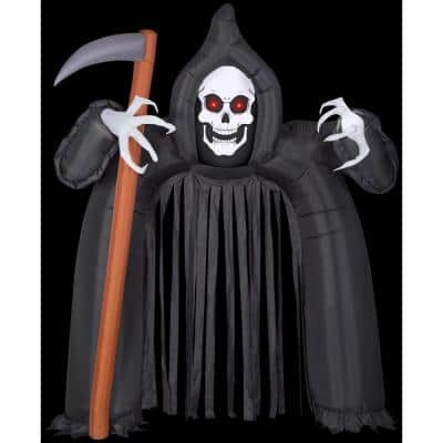 9 ft. H Archway-Reaper with Red Eyes Halloween Inflatable