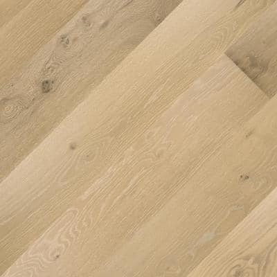 Ross Lake Oak 7 mm T x 6.5 in. W x Varying Length Engineered Click Waterproof Hardwood Flooring (21.67 sq. ft./case)