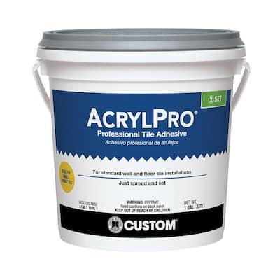 AcrylPro 1 Gal. Ceramic Tile Adhesive