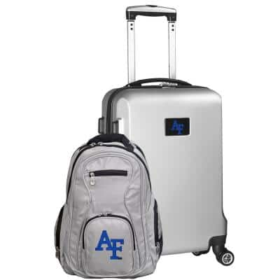 Air Force Falcons Deluxe 2-Piece Backpack and Carry on Set