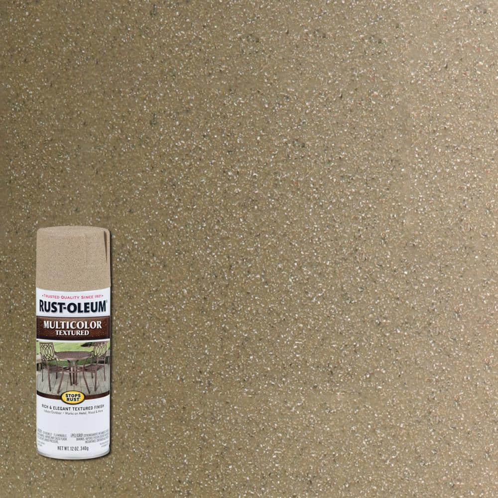 Rust-Oleum Stops Rust 12 oz. MultiColor Textured Desert Bisque Protective Spray Paint