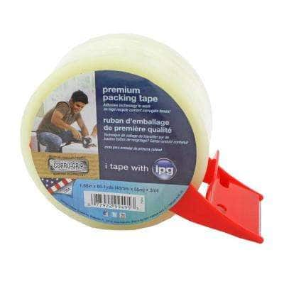 1.88 in. x 54.6 yds. Premium Packing Tape with Dispenser