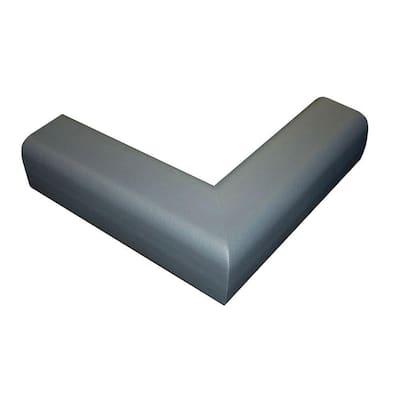 Fireplace Cushion Hearth Pads, Gray