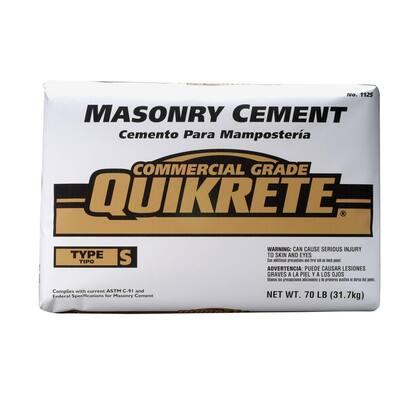 70 lb. Type S Masonry Cement