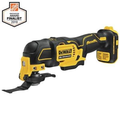 ATOMIC 20-Volt MAX Cordless Brushless Oscillating Multi-Tool (Tool-Only)