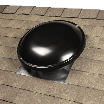1500 CFM Black Power Roof Mount Attic Fan