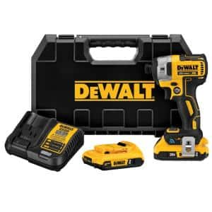 20-Volt MAX XR with Tool Connect Cordless Brushless 1/4 in. Impact Driver with (2) 20-Volt 2.0Ah Batteries & Charger