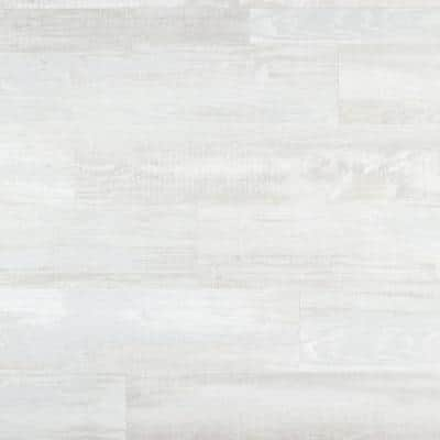 Element Wood 1/4 in. x 6 in. x 48 in. White Resin Decorative Wall Panel with Trim (18-Pack)