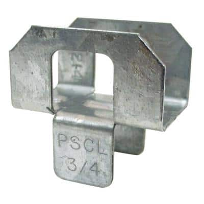 PSCL 3/4 in. 20-Gauge Galvanized Panel Sheathing Clip (250-Qty)