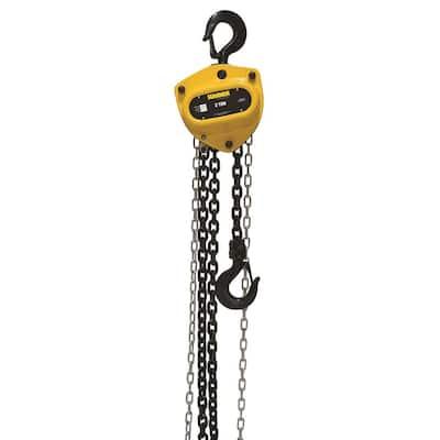 2-Ton Chain Hoist with 15 ft. Lift