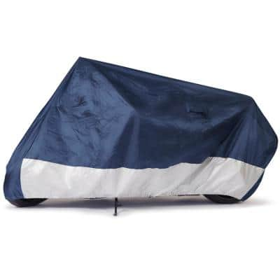 Standard 86 in. x 44 in. x 44 in. Size MC-0 Motorcycle Cover