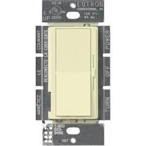 Diva 1.5 Amp Single-Pole/3-Way 3-Speed Fan Control, Almond