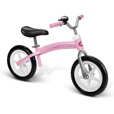 800X Glide and Go Age 2.5-Year to 5-Year Old Kids Balance Bike in Pink