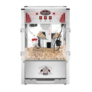 Commercial 16 oz. Majestic Silver Countertop Popcorn Machine