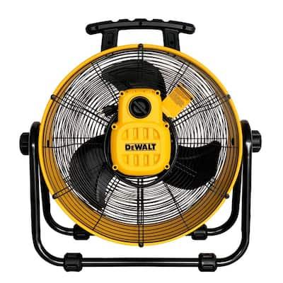 DEWALT 20-inch 3-Speed Heavy-Duty Drum Fan w/ 6-ft Power Cord