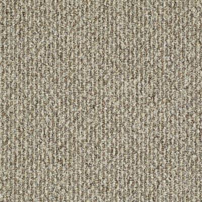 Fallbrook - Color Sandcastle Indoor/Outdoor Berber Beige Carpet