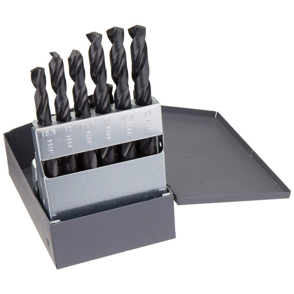 10mm High Speed Steel for Metal//Plastic//Wood 19x HSS Drill Bit Set Metric 1mm
