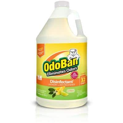 1 Gal. Citrus Disinfectant and Odor Eliminator, Fabric Freshener, Mold Control, Multi-Purpose Cleaner Concentrate