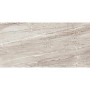 Daltile Sanford Shadow Gray Polished 12 In X 24 In Color Body Porcelain Floor And Wall Tile 15 28 Sq Ft Case Rm9212241l The Home Depot