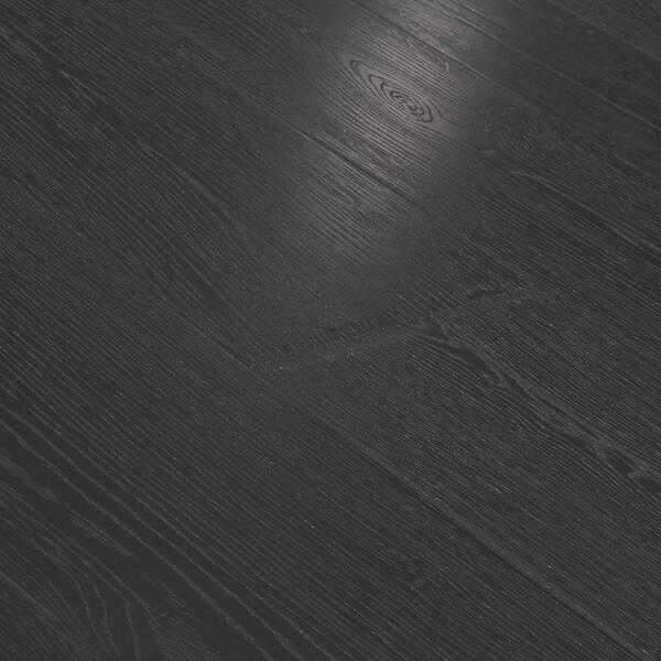 Pergo Pure Black Oak Laminate Flooring, Pergo Black Laminate Flooring