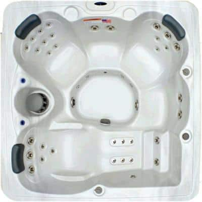 5 Person 51 Jet Spa with Stainless Jets and Ozone Included