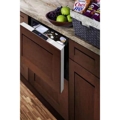 1.6 cu. ft. Mini Fridge in Stainless Steel without Freezer, Drawer Style