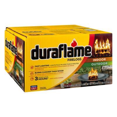 Indoor/Outdoor Firelogs 4.5 lbs. (6-Pack)