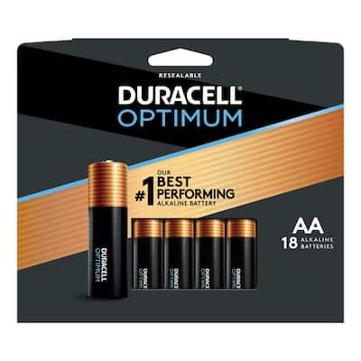 Optimum AA Alkaline Battery (18-Pack)