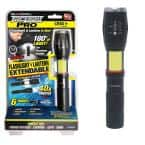 TacLight Pro 2-in-1 Flashlight and Lantern with Zoom and Magnetic Base