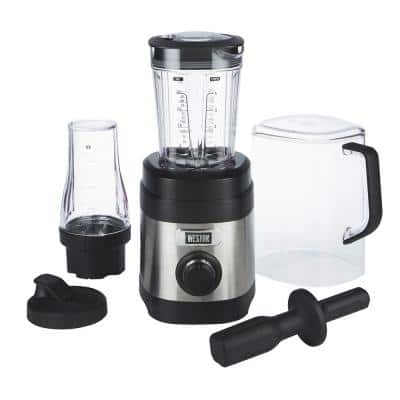 Pro Series 32 oz. 11-speed with Sound Shield and 20 oz. Travel Jar Stainless Steel Blender