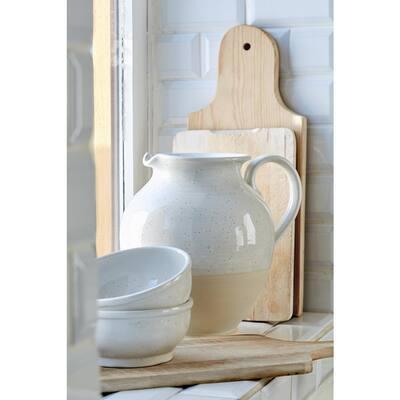 Fattoria 182 fl. oz. Ceramic Stoneware Pitcher