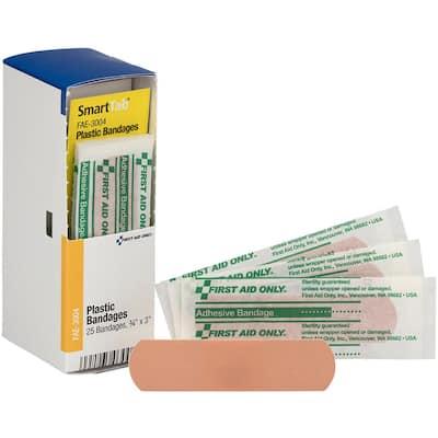Adhesive Bandages (25 Per Box)
