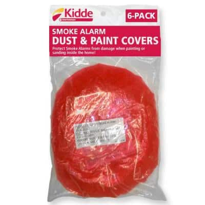 Smoke Detector Dust and Paint Covers