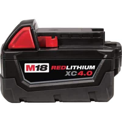 M18 18-Volt 4.0 Ah Lithium-Ion XC Extended Capacity Battery Pack