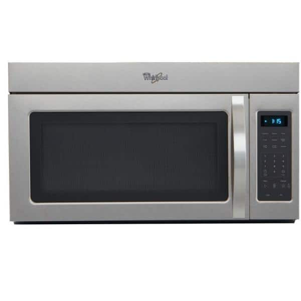 https www homedepot com p whirlpool 1 7 cu ft over the range microwave in stainless steel wmh31017as 203491643