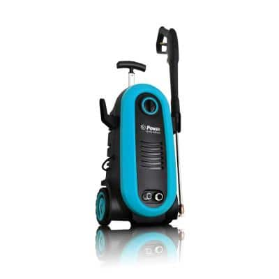 POWER 2200 PSI 1.76 GPM Electric Pressure Washer in Blue