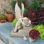 27 in. H Hunger of Heartbreak Angel Statue