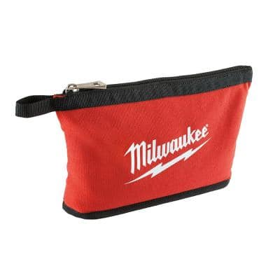 Red Zipper Tool Bag