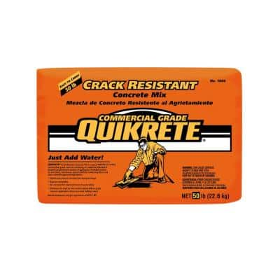 50 lb. Crack Resistant Concrete Mix