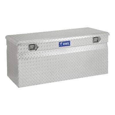 """Bright Aluminum 48"""" Cargo Carrier Utility Chest Box (Heavy Packaging)"""
