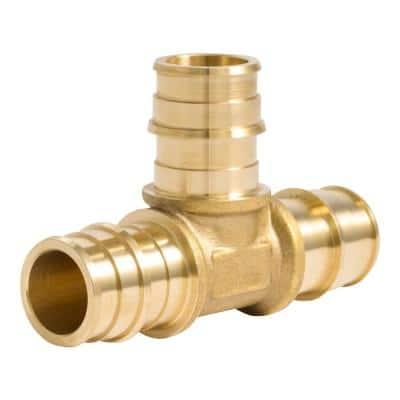 3/4 in. PEX-A Brass Expansion Tee Fitting