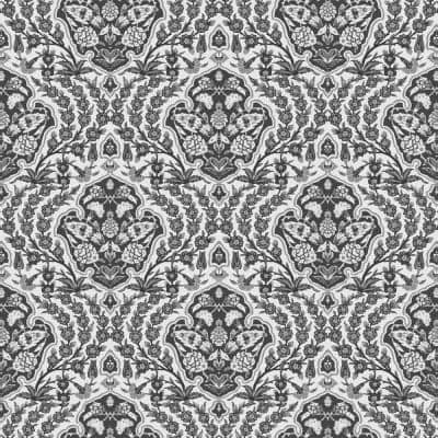 Ottoman Small Fabric Peelable Wallpaper (Covers 36 sq. ft.)