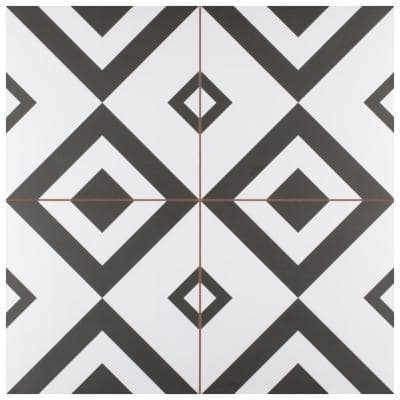 Brixton 17-5/8 in. x 17-5/8 in. Ceramic Floor and Wall Tile (11.02 sq. ft. / case)