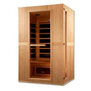 Infracolor 2-Person Upgraded Far Infrared Sauna with 6 Dual Tech Heaters