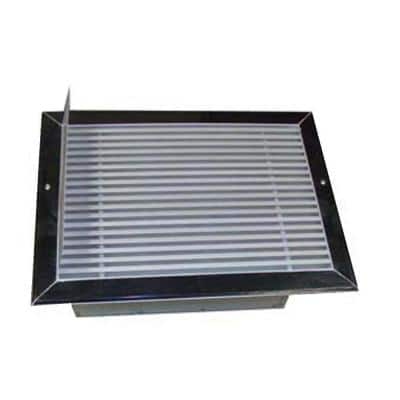 14 in. x 10 in. Recessed Floor Hydronic Heater (Not electric)